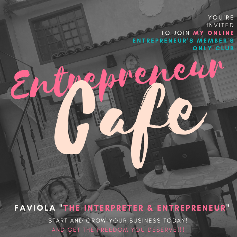 Entrepreneur Cafe