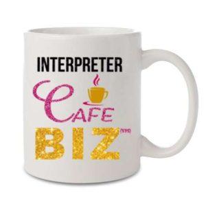 Free Interpreting Mug